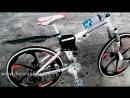 Велосипед на литых дисках BMW X6M White._HIGH