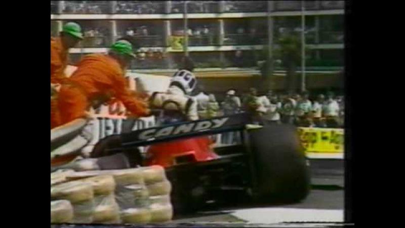 F1 Monaco GP 1979 Didier Pironi Niki Lauda Crash
