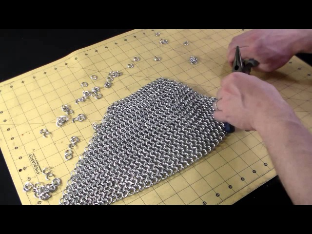 How to Make a Chainmail Bishops Mantle