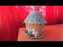 Плетение из газет шкатулка чайный домик How to make Paper Basket periódicos de tejer