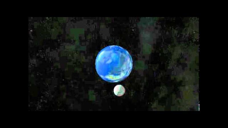 Занятие 33. Движение Луны вокруг Земли