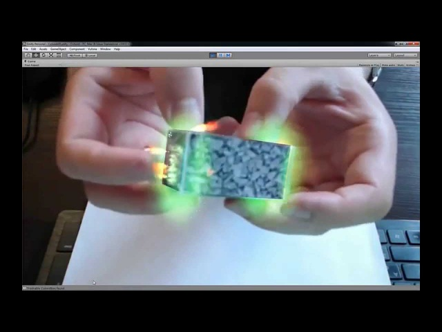 Augmented Reality Tutorial No. 16 Augmented Reality using Unity3D and Vuforia 3D Cuboid Tracking
