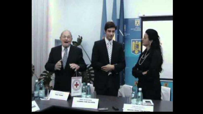 Discursul Prinţului de Bavaria, Ludwig von Bayern şi al lui Enst Frank.AVI