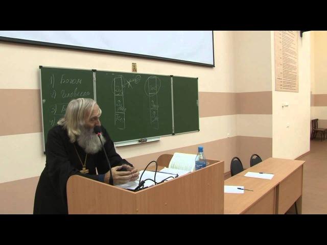Протоиерей Евгений Соколов Разбор Символа Веры Лекция пятая