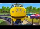 Веселые паровозики из Чаггингтона - Новый учитель (3 Сезон/ Серия 14) - мультфильмы про паровозики