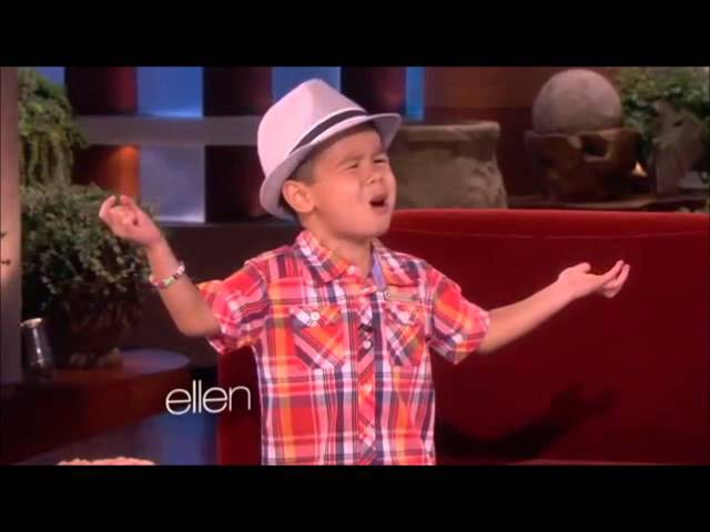 Four Year Old Kai Sings When I Was Your Man