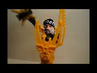 Обзор сборка Лего Бионикл Мата нуи. Review build LEGO Bionicle Mata Nui.