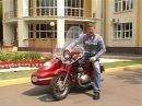Тест-драйв JAWA 350 с коляской