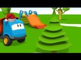 Мультик про машинки׃ Новогодняя песенка грузовичка Левы׃ Новогодние мультфильмы для детей