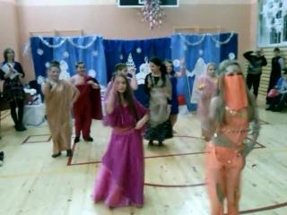 Новый 2015 год Индийский танец 5 класс