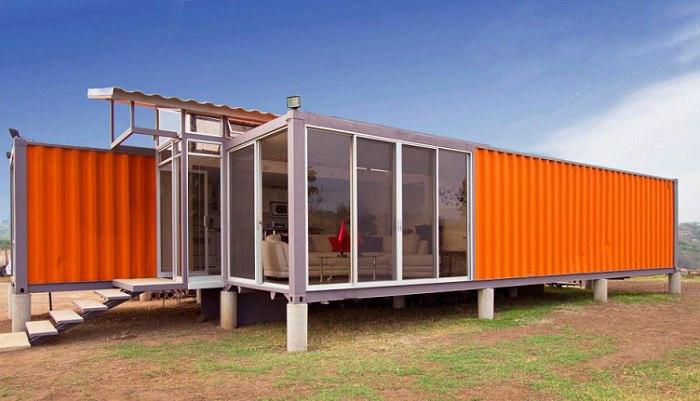 Дома из транспортировочных контейнеров