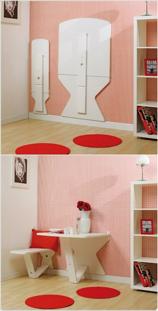 10 идей для маленьких комнат. Уникальная мебель и приспособления