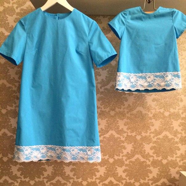 Как сшить платье дочке
