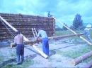 Как построить сельский дом. Рубим срубы