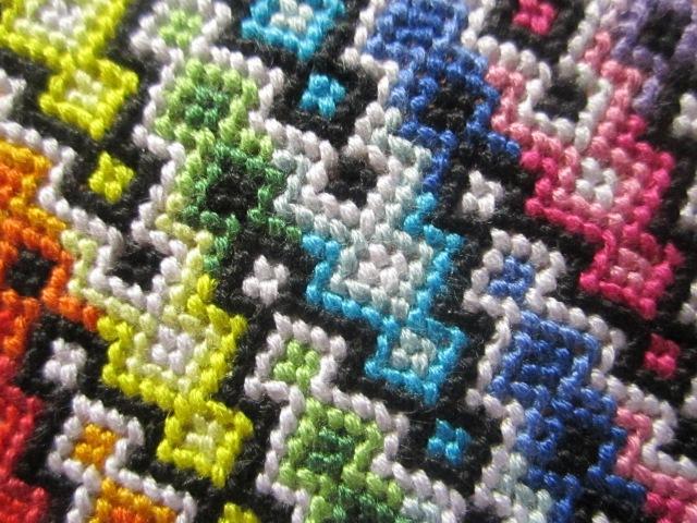Процесс плетения №4 Гейзерный коврик by Lilian.