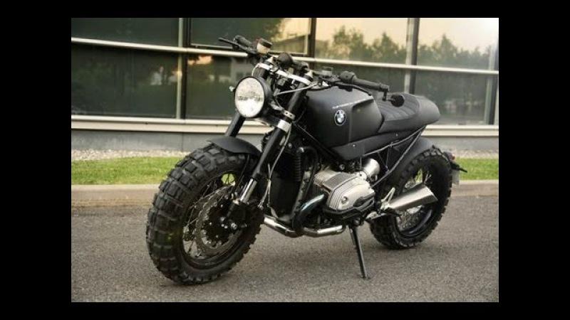 BMW R1200 R | A Scrambler Motorcycle for Lazareth