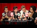 The Vamps play The Yes/No Game (rus sub)