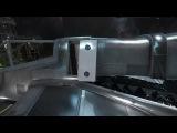 Star Citizen Asteroid Hangar with Cutlass