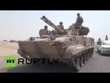 Yemen: Hundreds of Saudi tanks roll out of Aden to bolster Hadi loyalists
