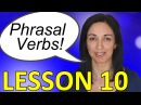 Phrasal Verbs in Daily English Conversations - Lesson 10