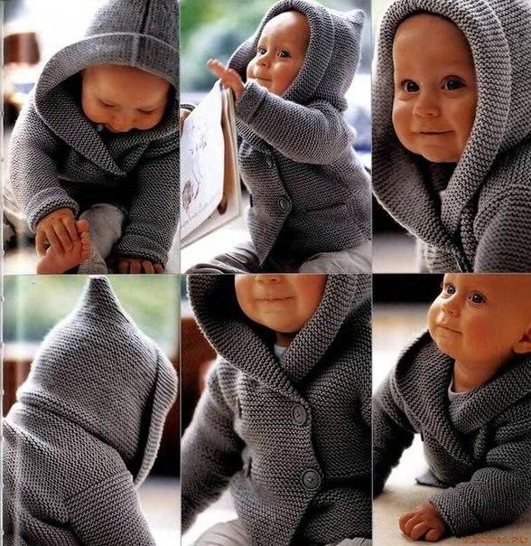 Жакет для мальчика Duffle .. (3 фото) - картинка