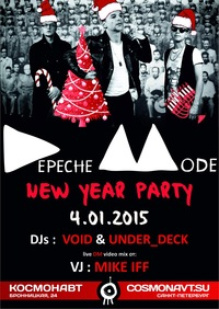 DEPECHE MODE New Year Party!!! 4.01.2015