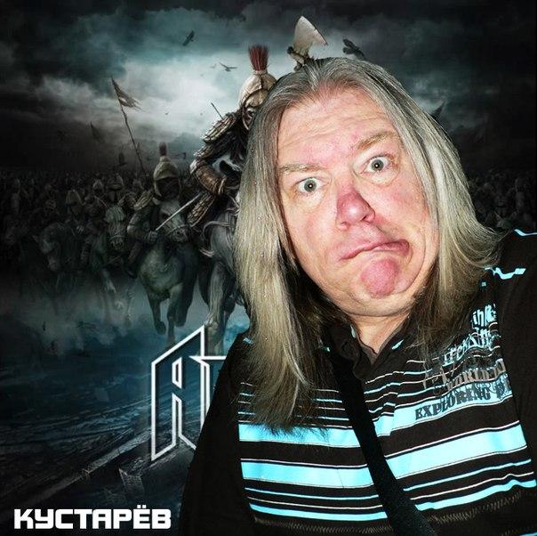 Песня группы АРИЯ в исполнении Андрея Кустарёва (СТАЙЕР, MARGENTA)