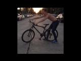 Когда сумасшедший на велосипеде Marcus Johns (Vine)