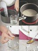 Фото рецепта: Сахарный сироп и карамель.