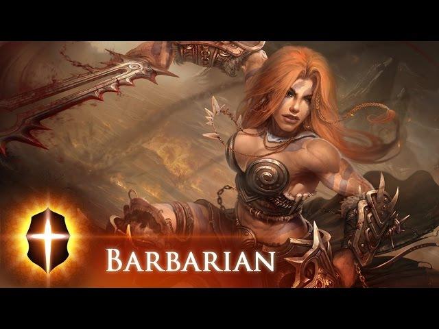 Barbarian(Diablo III) - Original SpeedPainting by TAMPLIER 2015