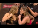 UFC 190 Official Weigh-In Ronda Rousey vs. Bethe Correia