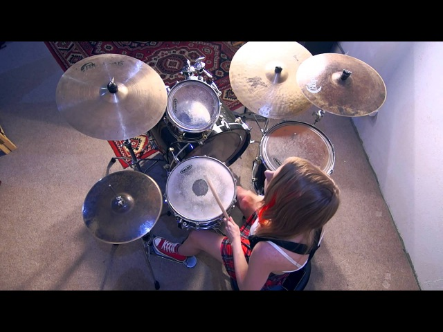 Evanescence - Call me when Youre Sober (Drum and vox cover by Antonina Shestakova)