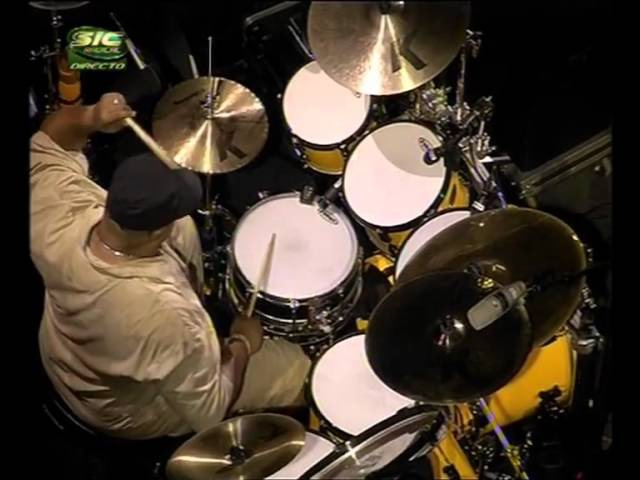 Dennis Chambers Drum Solo on Firchie Drum Santana Soul Sacrifice 2006