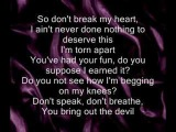 The Devil in Me- Kate Voegele (HQ Album version) w lyrics