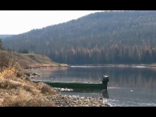Сезон охоты на реке Илим  (часть  1/4)