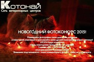 Внимание! Новогодний фотоконкурс! Главный приз-сертификат на услуги клиники 2000р!