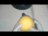 Как быстро и легко почистить апельсин/How to quickly and easily clean orange