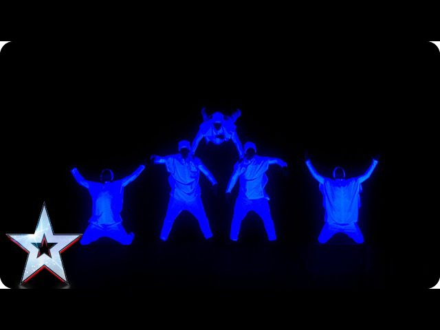 Dance act UDI light up the stage Semi Final 3 Britain's Got Talent 2015