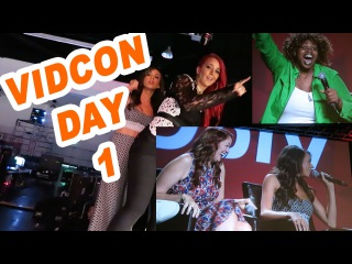 Vidcon Day 1!!!