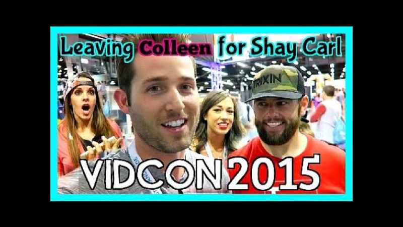 Leaving Colleen for ShayCarl VidCon2015 - Days 220, 221, 222, and 223