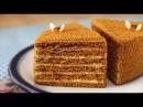 Медовый торт Медовик Старинный Рецепт МЕДОВИКА Как приготовить медовый торт