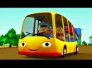 Детская песенка про автобус. Мультфильм для малышей.