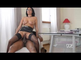 Anissa kate - black cock's jizz on female boss glasses [liked porno]