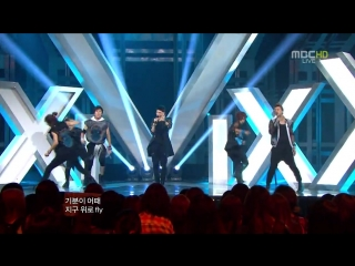 120609 - 빅스 (VIXX) - Super Hero @ Music Core