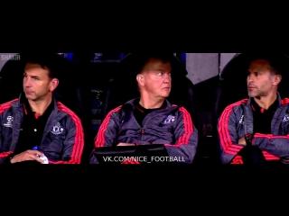 Реакция Ван Гаала и Гиггза :D   vk.com/nice_football