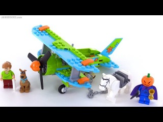 LEGO Scooby Doo Mystery Plane Adventures review! set 75901