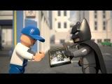 LEGO DC Super Heroes - Batman v myčce aut