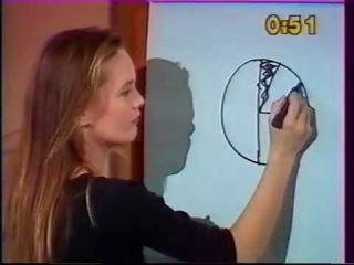 Vanessa Paradis invitée à lémission dessinez cest gagné 1989.