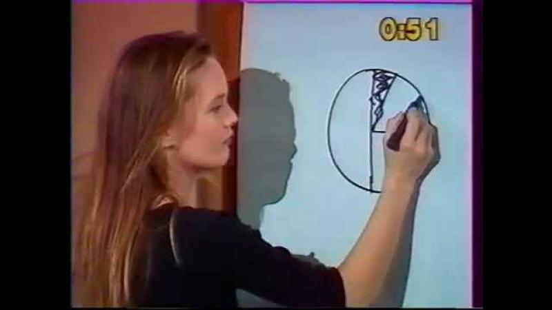 Vanessa Paradis invitée à l'émission dessinez c'est gagné 1989