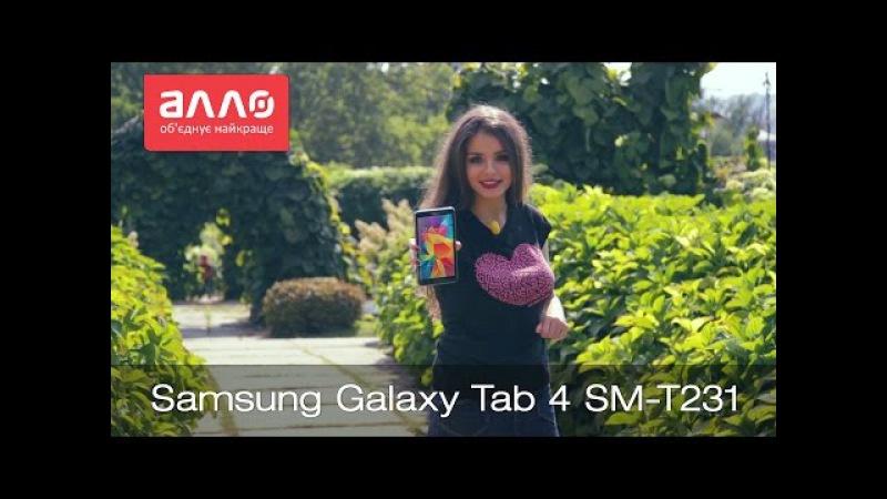 Видео-обзор планшета Samsung Galaxy Tab 4 SM-T231